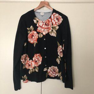 A NEW DAY Floral Cardigan Sweater XXL